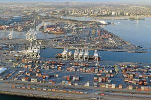 Long Beach, Calif. Aerial