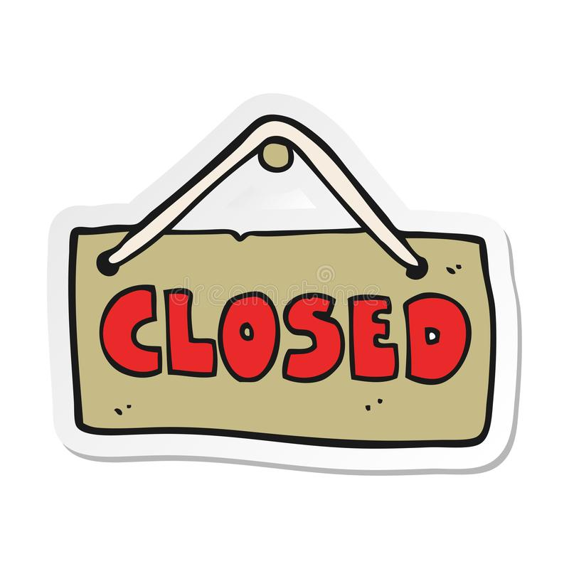 sticker-cartoon-closed-shop-sign-creative-illustrated-147654333